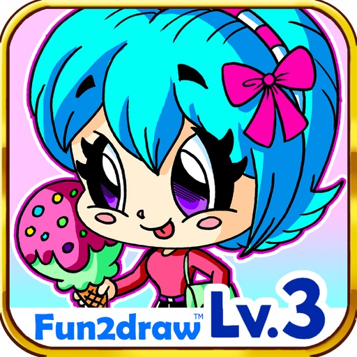 Image of: Cute Pandas How To Draw Cute Kawaii Fun2draw Lv3 Appadvice How To Draw Cute Kawaii Fun2draw Lv3 By Mei Yu Art Inc