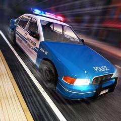 Police Highway Run . Super Simulateur de Courses