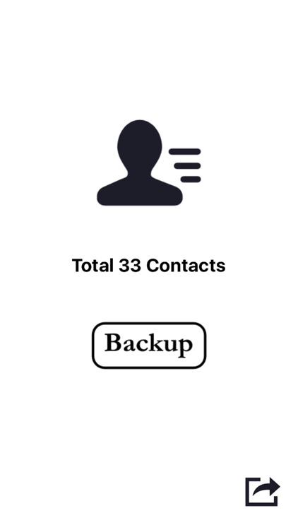 Backup Contacts In Address Book - Export As vCard