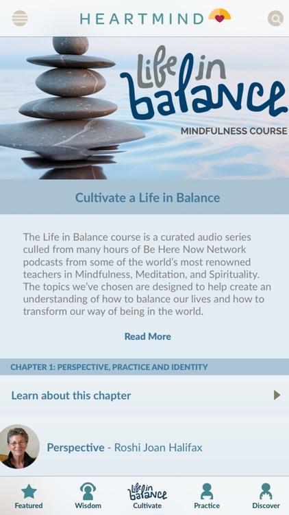 HeartMind - Free Podcast & Meditation App screenshot-3