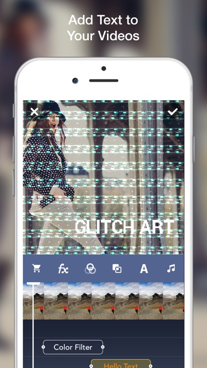 Glitch Art- Video Effects Edit screenshot-3