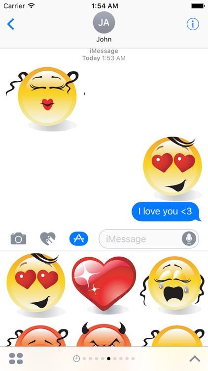 Emotion Cute Sticker Pack 01 screenshot-3