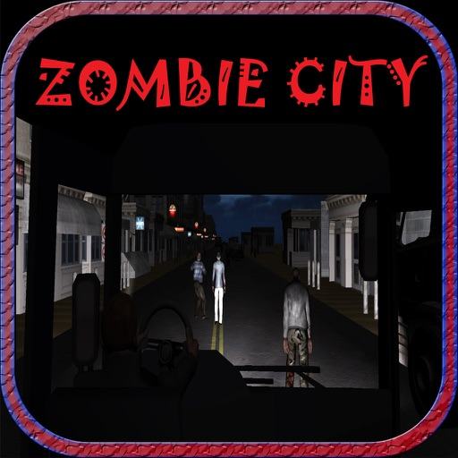 Adventurous Ride of Zombie City Bus driving game