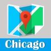 芝加哥旅游指南地铁去哪儿美国地图 Chicago CTA L metro map guide