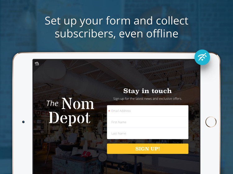 MailChimp Subscribe screenshot-3