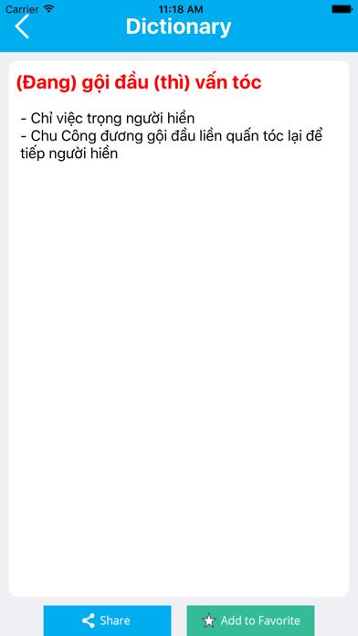 Từ Điển Tiếng Việt screenshot three