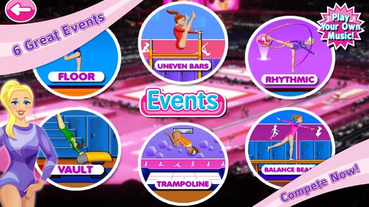Elite Gymnastics Events Games screenshot-0