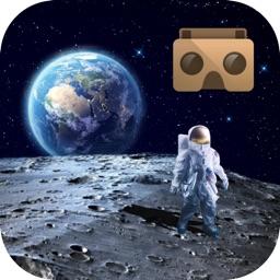 VR Moon Walk : Moon Journey For Google Cardboard