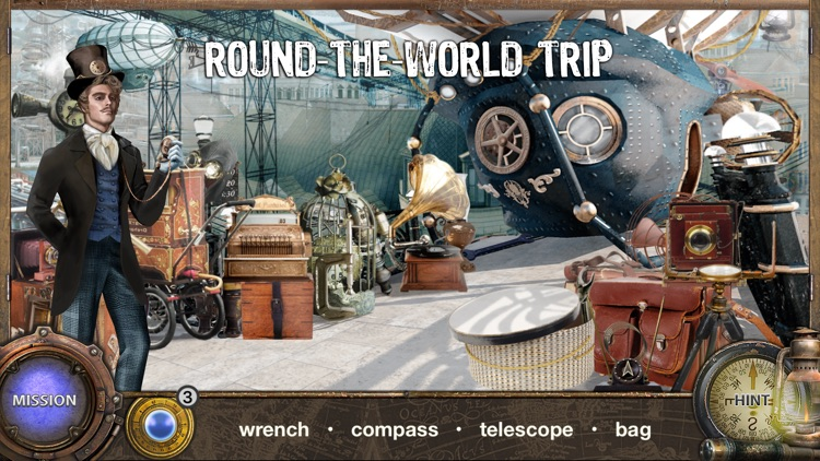 Around The World in 80 Days - Hidden Object Games screenshot-0