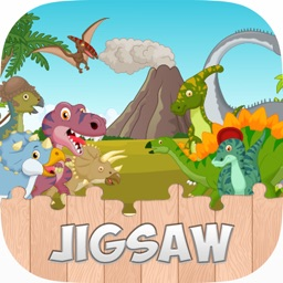 Dinosaur Jigsaw Puzzle For Kids Easy Learning Game