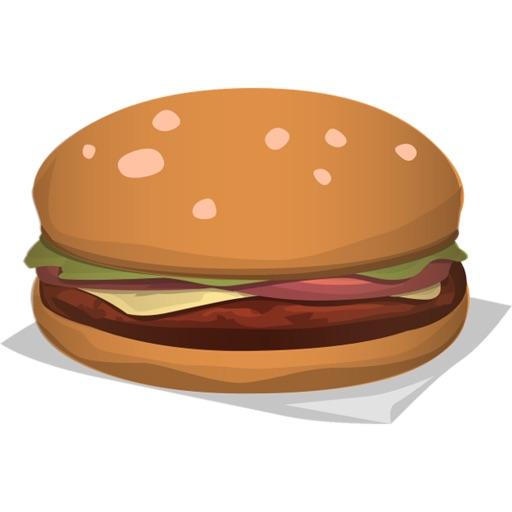 漢堡包貼紙