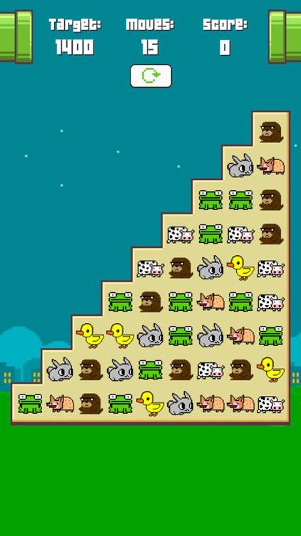 Match 3 Animals - Matching Three Game Puzzle