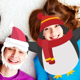 XMAs SANTa MOUSTACHe Stickers