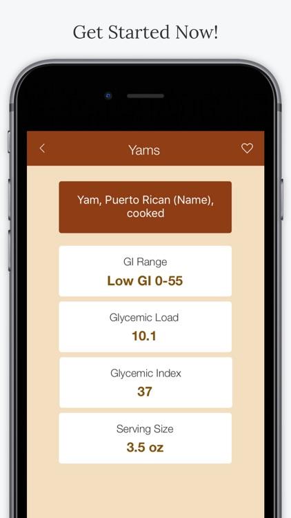 Glycemic Foods screenshot-4