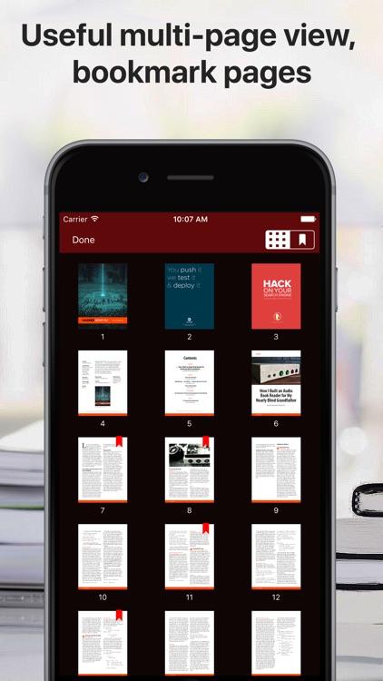 PDF Files − Reader & Library screenshot-3