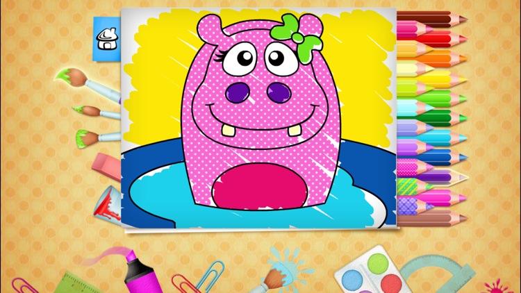 123 Kids Fun COLORING BOOK Educational Color Games screenshot-4