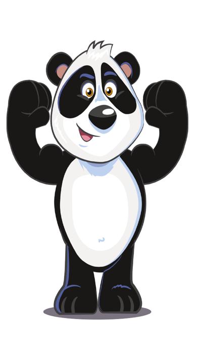 Panda Power Stickers Pack screenshot two