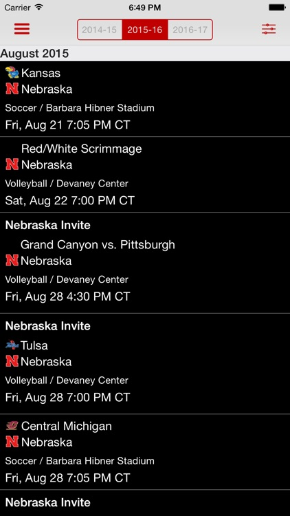 Official Nebraska Huskers screenshot-3