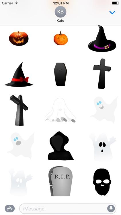 Halloween Stickers - Stickers for iMessage screenshot-4