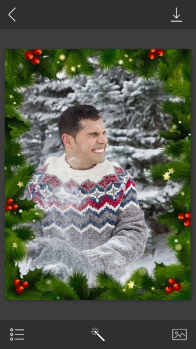 点击获取Xmas Santa Photo Framese