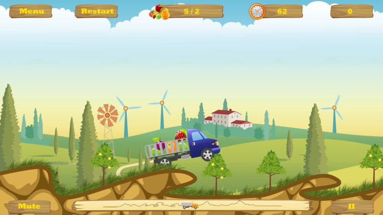 HappyTruck -- Fruit Express screenshot-4