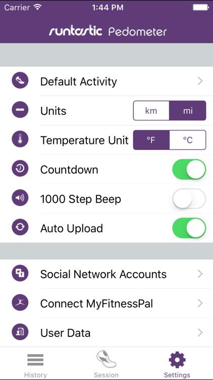 Pedometer Step Counter PRO by Runtastic screenshot-4