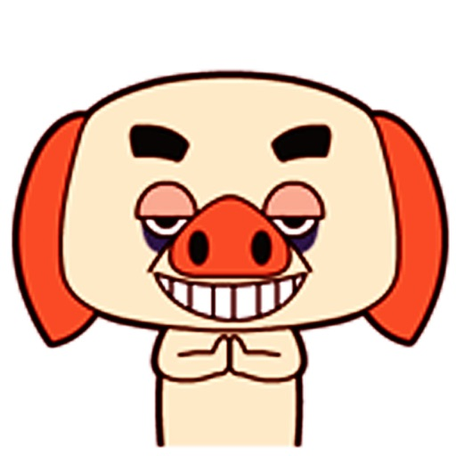 Funny Pig - Animated Stickers And Emoticons