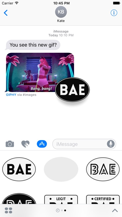 BAE Stickers