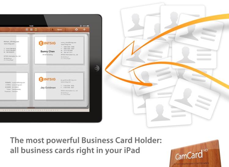 CamCard HD -business card scanner & reader