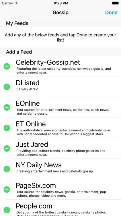 Gossip - The Latest Gossip News & Rumors screenshot-4