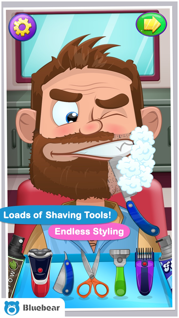 Crazy Shave™ Screenshot