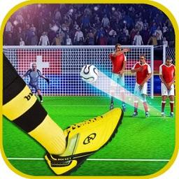 Shoot Goal  Score Pes