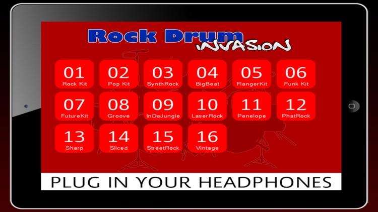 Rock Drum Invasion (Premium)