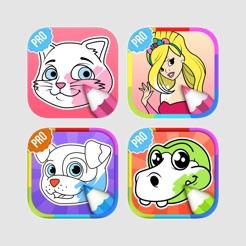 çocuklar Için Boyama Oyunları App Storeda