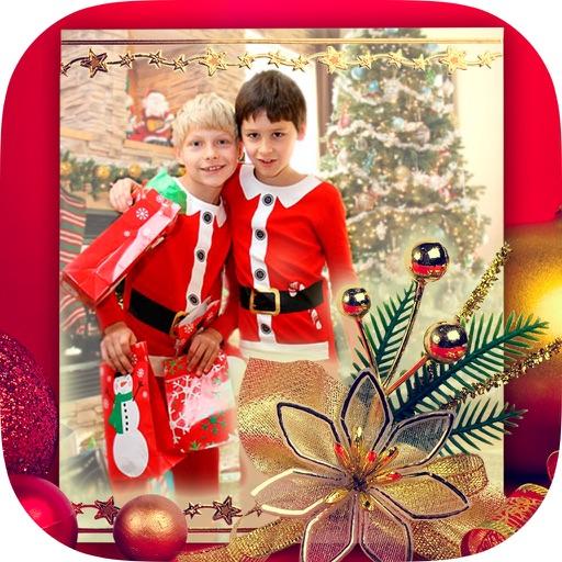Baixar Molduras de Natal para fotos 2016 - Álbum para iOS