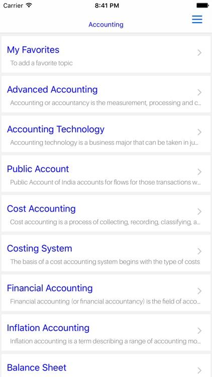 MBA Accounting- Advanced Accounting screenshot-4