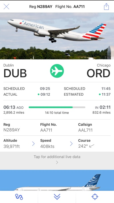 Plane Finder review screenshots