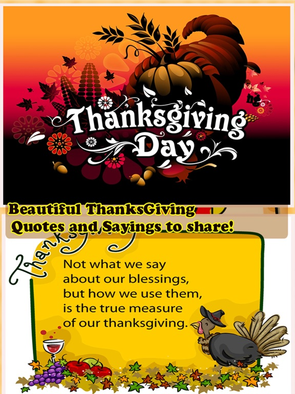Happy thanksgiving day greetings card maker app price drops screenshot 1 for happy thanksgiving day greetings card maker m4hsunfo