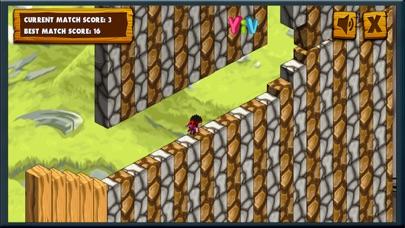Adventure of Cube Ninja screenshot one