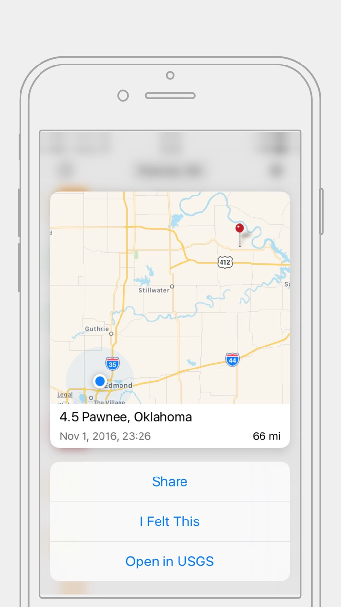 Quakes - Earthquake Utility Screenshot