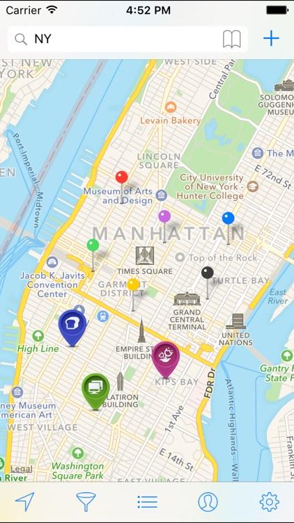 My Maps - Auto Sync