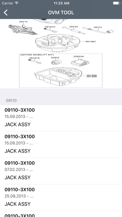 Kia Car Parts - ETK Parts Diagrams screenshot-2