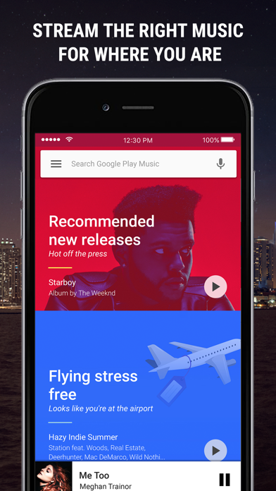 Screenshot for Google Play Music in Chile App Store
