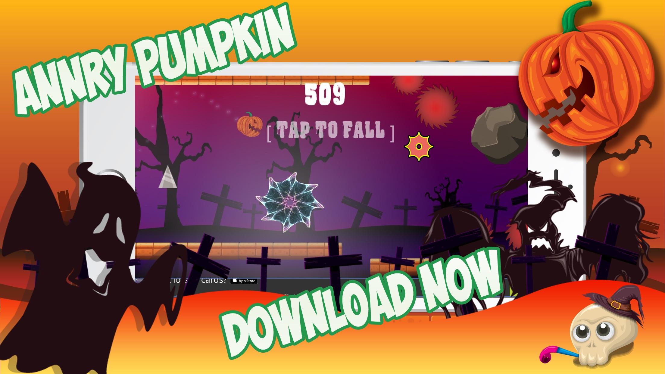 Halloween Tap the Angry Pumpkin Screenshot