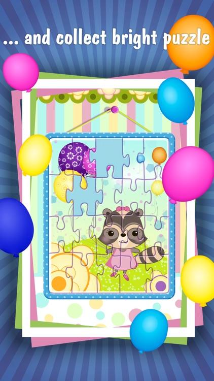 Candy Raccoon: Pop Balloons screenshot-3