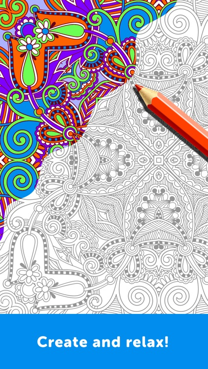 Adult Coloring Book - Coloring Book for Adults screenshot-1