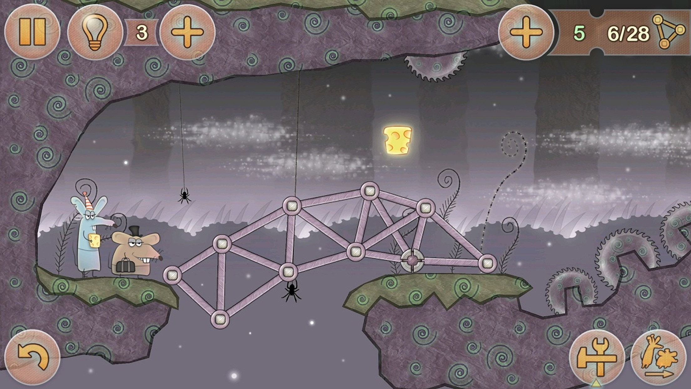 Tiny Bridge: Ratventure HD Screenshot
