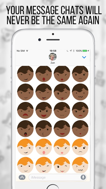 My BabyMoji - Baby Stickers Emoji Expressions screenshot-4