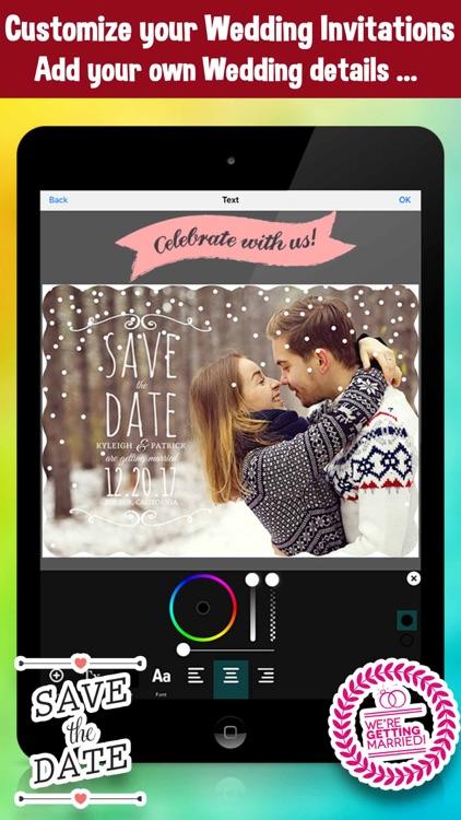 save the date wedding invitation photo editor by bhaumik