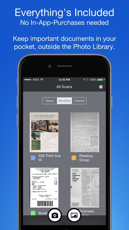 Smart PDF Scanner: Scan Documents and Receipts screenshot-4